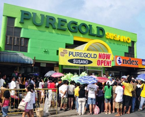 puregold supermarket By mid-2009, the company gained market leadership being the second largest  hypermarket and supermarket retailer in the philippines in terms of net sales.