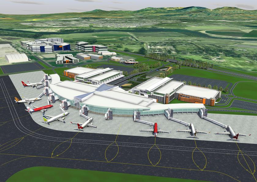 canberra airport development