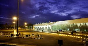 Coimbatore_International_Airport_at_Night