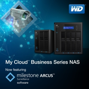 WD And Milestone Partner To Provide Video Surveillance Solutions For Businesses And Consumers (PRNewsFoto/WD)